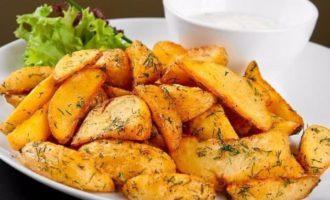 Картофель по-боярски