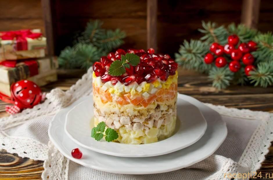 Неповторимый и насыщенный салат Красная Шапочка
