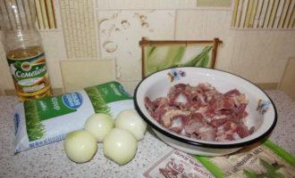 как варить куриные желудки