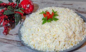 Салат Невеста пошаговый рецепт
