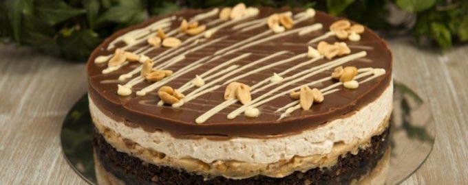 Торт «Сникерс» пошаговый рецепт