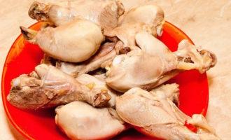 Сколько варить куриные ножки