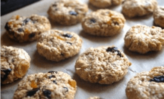 Овсяное печенье на кефире