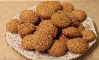 Рецепт домашних овсяных печений из геркулеса