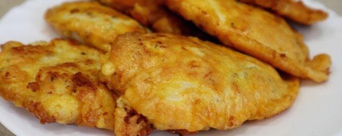 Рецепт курицы в кляре на сковороде