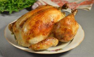 Сколько жарить курицу в духовке
