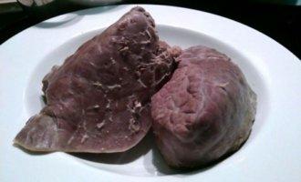 Сколько варить говяжье легкое