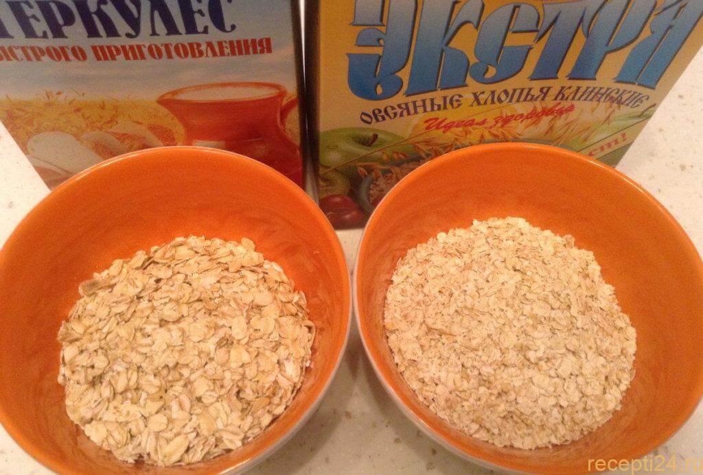 Как варить овсянку на молоке