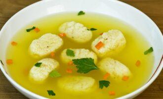 Рецепт клецок для супа