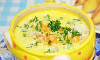 сырный суп рецепт с плавленным сыром