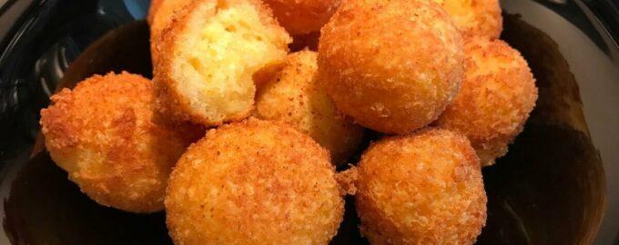 Сырные шарики: рецепты на сковороде