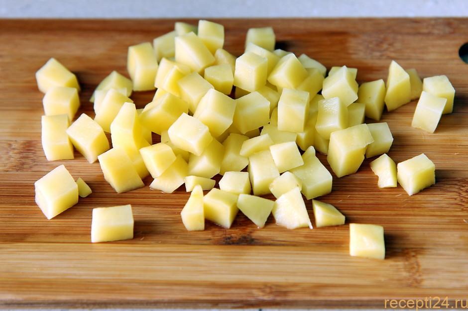 Картофельное пюре без молока и масла